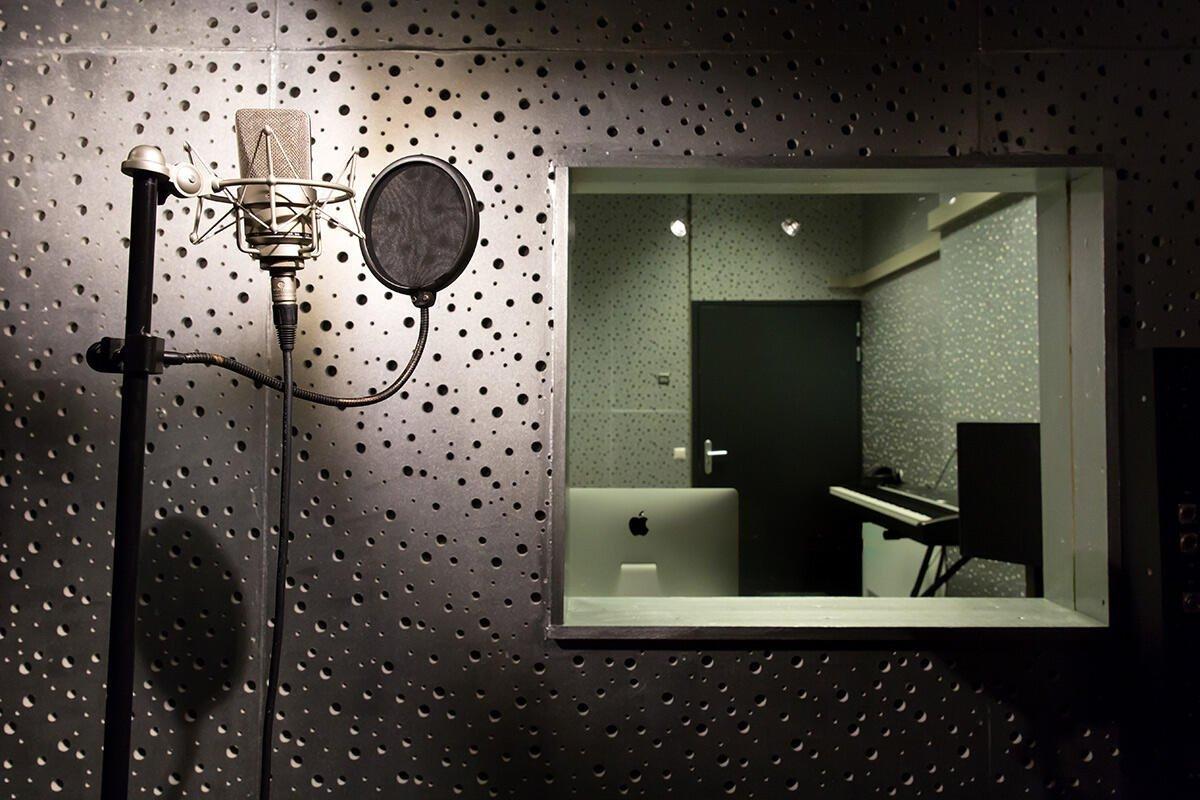 Muziek en Opname studio