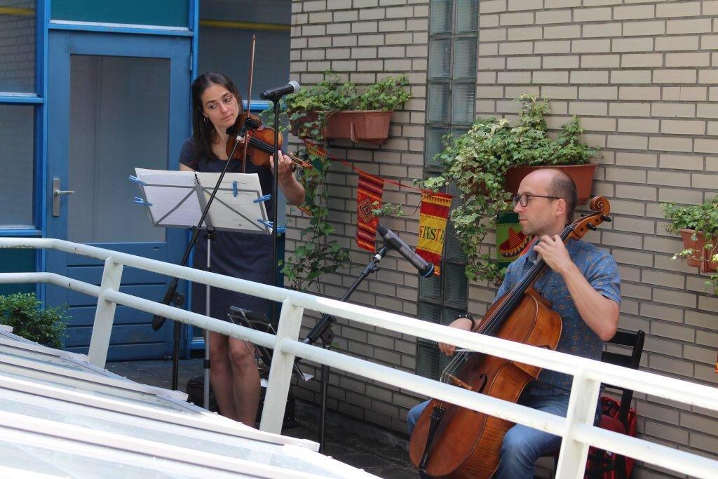 Strijkers Duo Residentie Orkest 23 juni | 12.00 uur